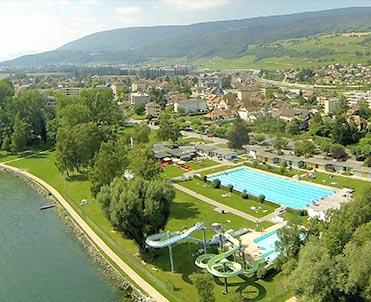 La piscine du landeron for Piscine en suisse